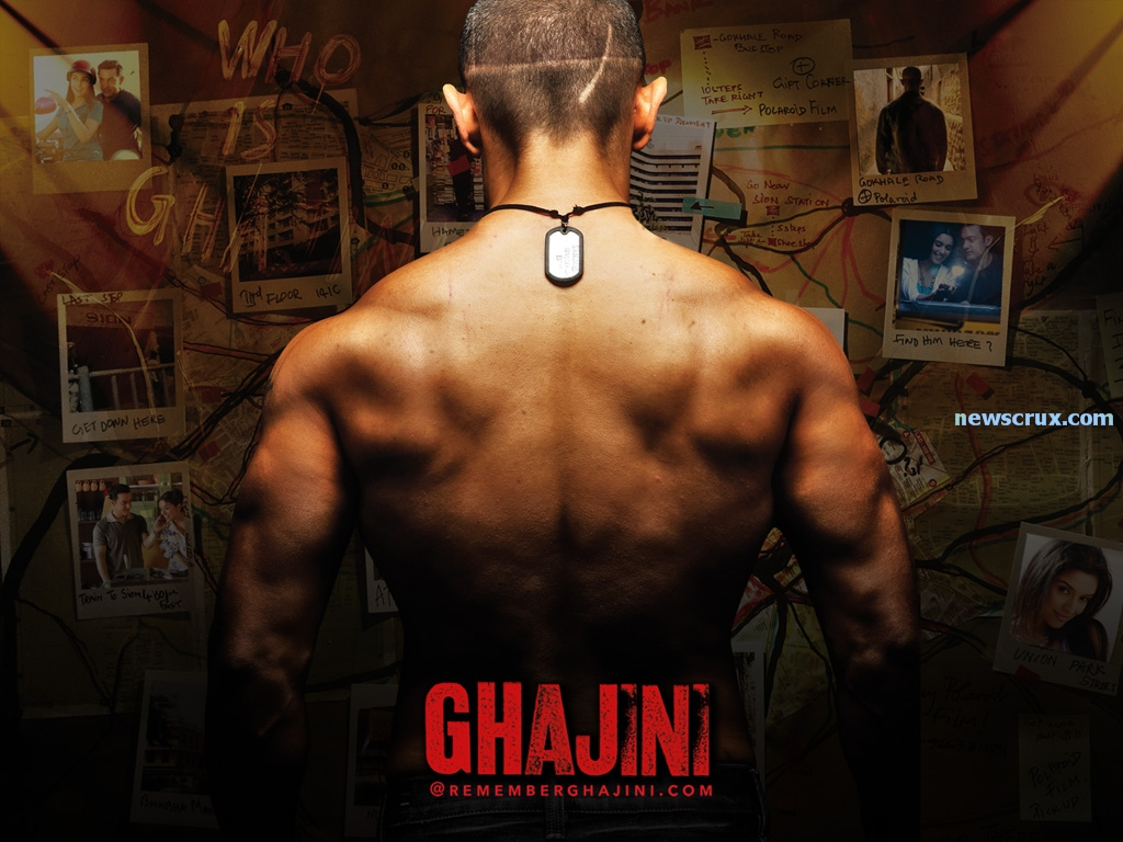 Ghajini - Aamir khan Xclusive New wallpapers - LC - Love Chandigarh