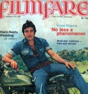 Image result for vinod khanna young